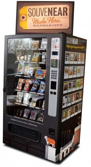 SouveNEAR Vending Machine Graphics
