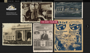 "Union Station ""Memories of Union Station"" Kiosk"