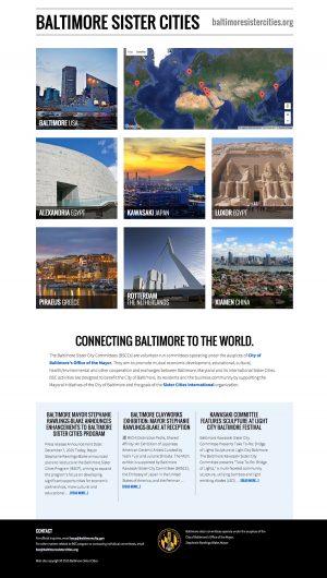 Baltimore Sister Cities